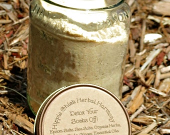 Detox Your Socks Off - Detox Bath Salts