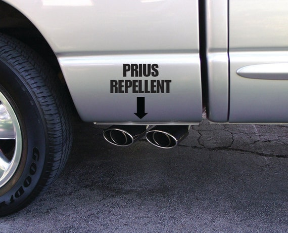 Items Similar To Prius Repellent Vinyl Decal For Pick Up