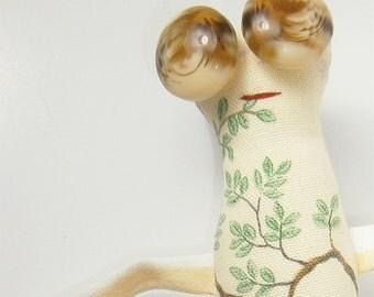 Jacqueline - ooak Skaerrenvolk cloth art doll