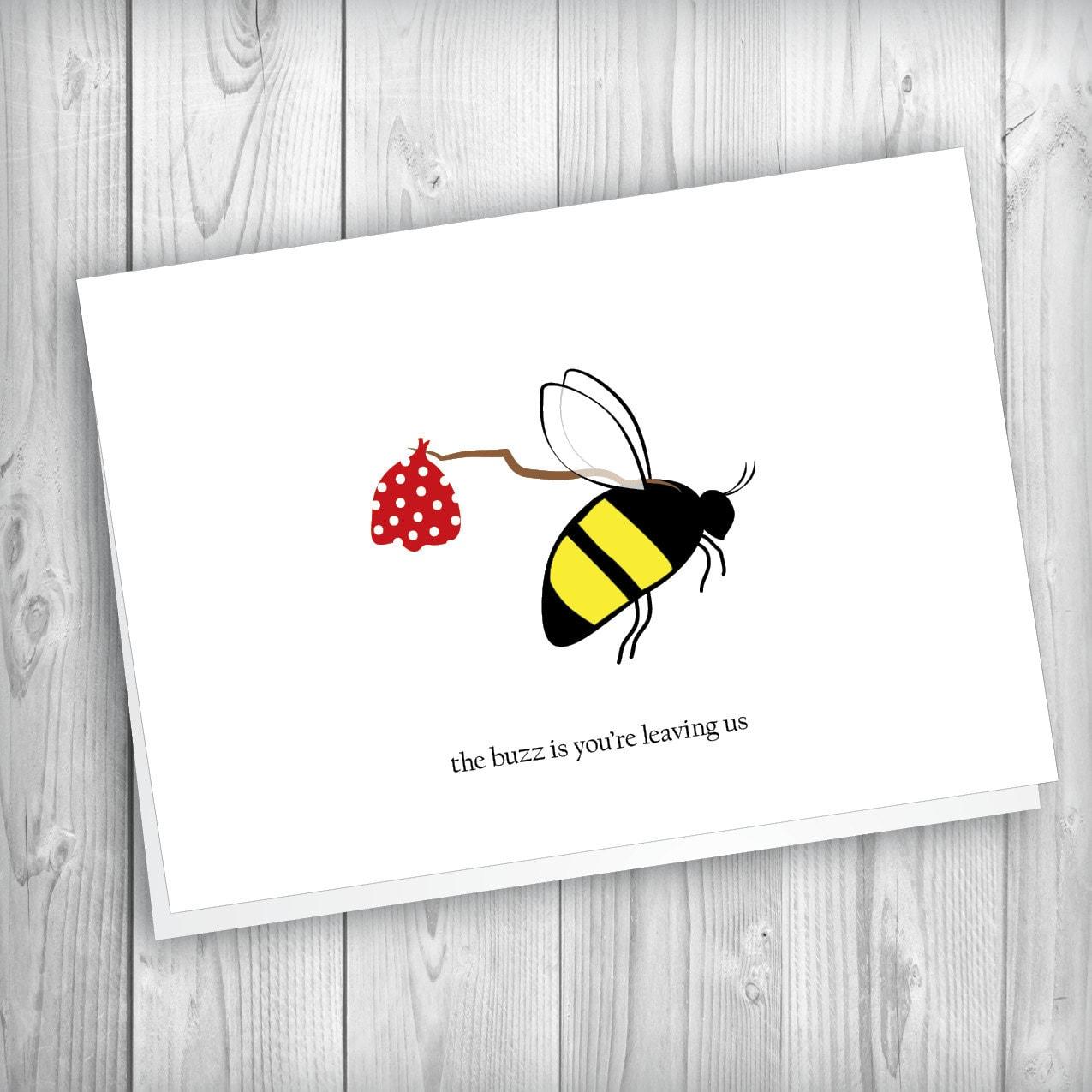 printable goodbye cards