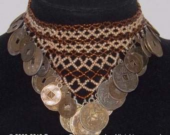Beads & Coins Anklet