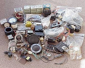 20 Plus Pounds of New and not so Used BOAT HARDWARE & PARTS Onan Hubble Ritchie etc...