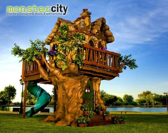 Custom Built Storybook Tree House