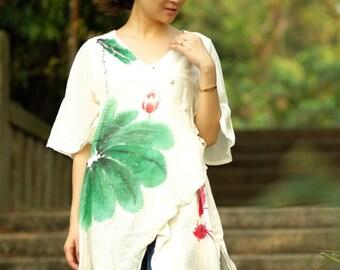 maxi dress summer dress plus size dress maxi dresses summer dresses hand painted dress womens summer dresses unique dress womens dresses