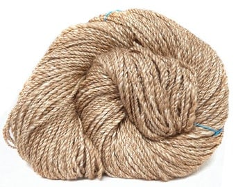 Handspun Yarn natural baby camel and silk