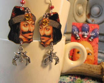 Vlad Tepes Earrings Vlad the Impaler Count Dracula