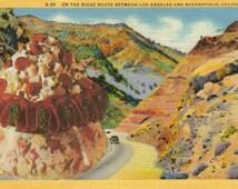 Original Collage Art Kitschy Kitchen Decor Kitsch Art for Kitchen Food Postcard Paper Collage Retro Food Artwork