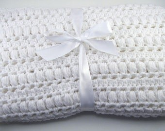 PDF Pattern Crocheted Baby Afghan, CAR SEAT Size and Newborn Size Blanket -- Sweet Dreams