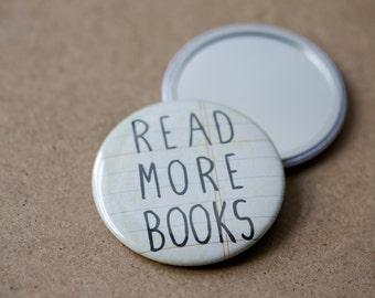 Read More Books Pocket Mirror