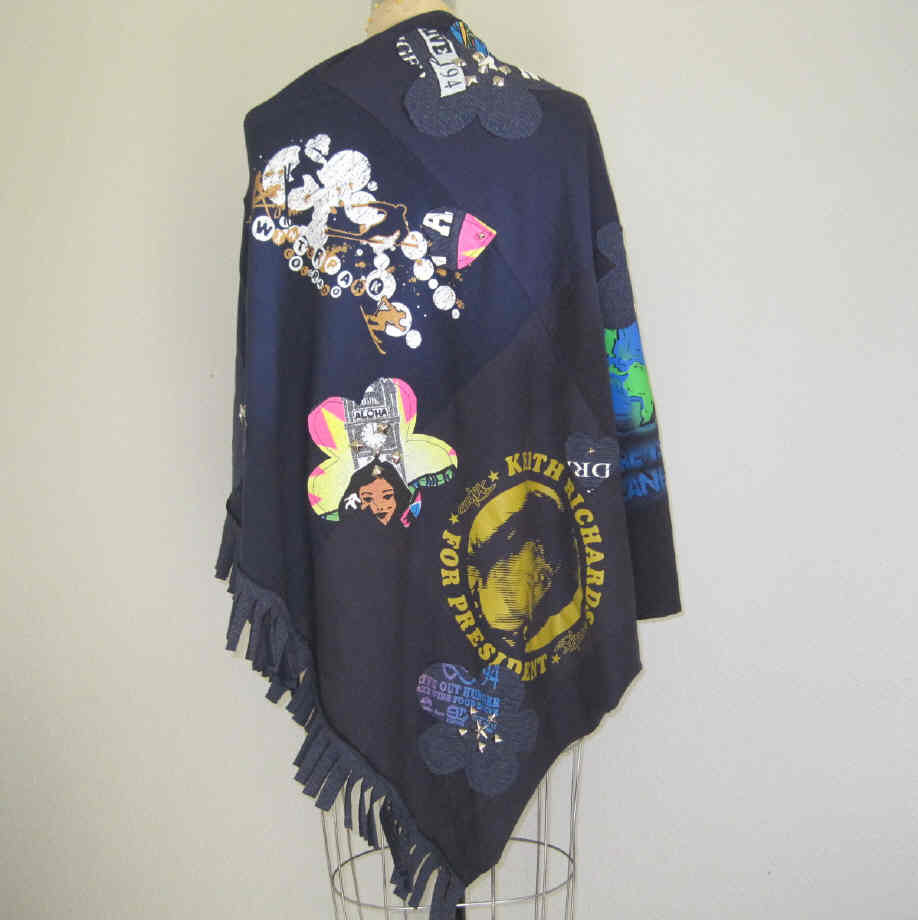 Poncho cape custom order shirt studded your by jagandnevie for Order custom shirts online