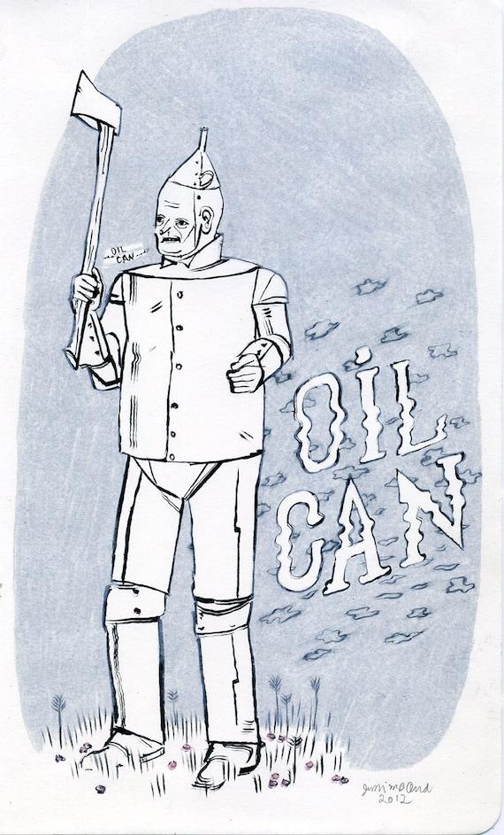Tin Man (original drawing, 2012)