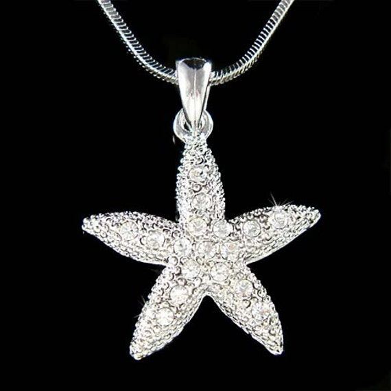 wedding swarovski starfish fish