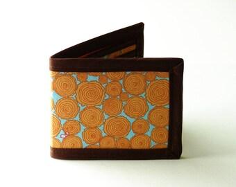 Stacked Wood Billfold Wallet - Vegan Friendly