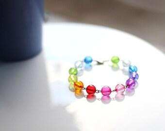 Disco Rainbow Bracelet
