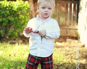 Boys Pants pattern for sizes newborn through 10 youth PDF
