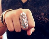 MODERN LACE ring ( free shipping )
