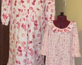 RESERVED FOR SMCCANN - Custom Order Mother and Daughter Nightgowns