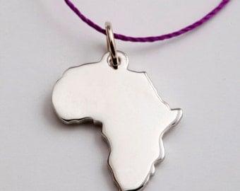 14K White Gold Africa