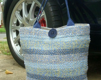 Handwoven handmade Tote, Purse, Travel, Market, Storage and Organization by Frederick Avenue