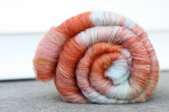 "Wool Batt in ""Summer Wishes"", 3 oz"