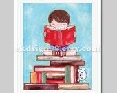 Boy wall art - nursery art - baby boy nursery decor - kids wall art - nursery print - children art print - brown - Discover