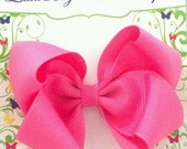You Pick the Colors for 10 Medium Single Layer Toddler Bows