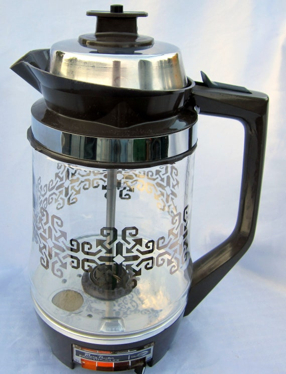 Vintage Proctor Silex Starflite Coffee Percolator Electric