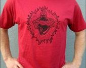 Men's Sacred Heart Red Tshirt
