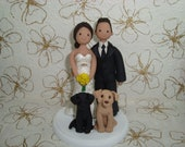 Customized Bride And Groom Wedding Cake Topper
