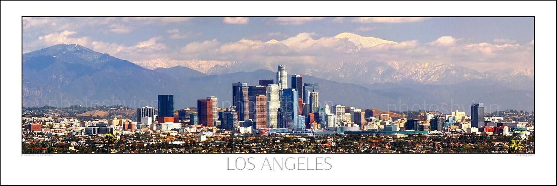 los angeles skyline view - photo #10