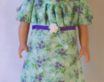 1812-18 inch Doll Caroline Dress and Hat