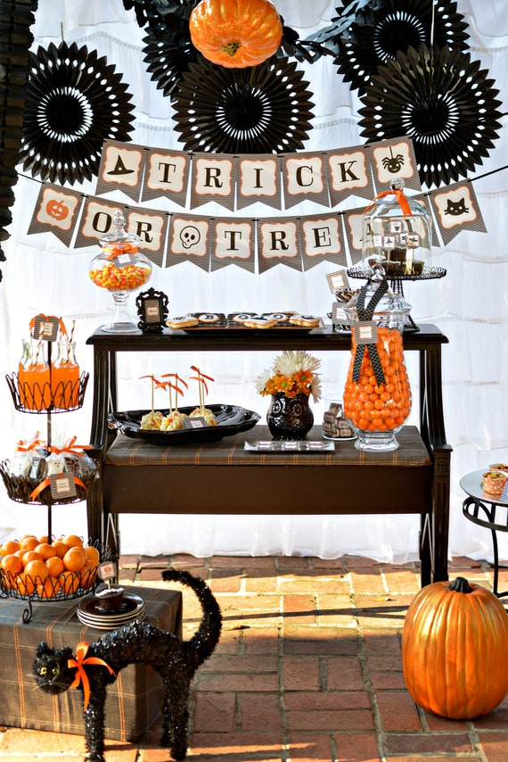 Halloween Printable Party Collection - Eerie & Cheery