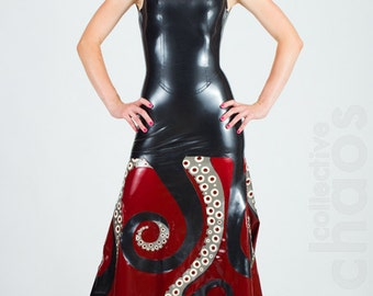 Latex Ursula Octopus Tentacle Gown