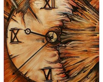 Timespell - Original Acrylic Painting