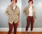 1970's Deadstock Lightweight Khaki Cotton Jacket, M