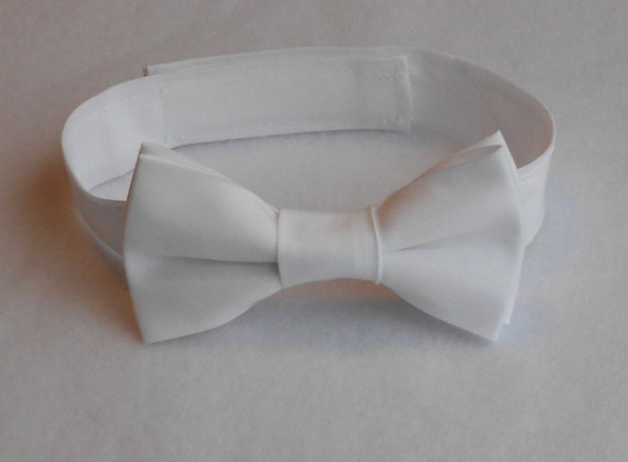 White Bowtie - Infant, Toddler, Boy 2 weeks before shipping