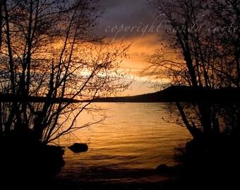 Lake at Sunset - A Fine Art Photograph