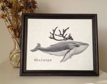 Whaleope Print 8 x10