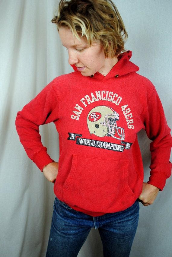 Vintage 1985 San Francisco 49ers NFL Sweatshirt Hoodie - Champion tag