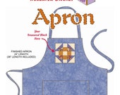 Treasured Block Apron Pattern PDF Instant Download