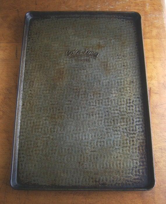 Vintage Baking Sheet Pan Bake King Brand