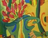 PLAY AGAIN - Surreal - Original Acrylic Painting