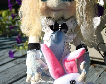 OOAK Made To Order Alice In Wonderland Art Doll