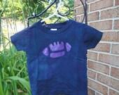 Baby Football Shirt (18 months), Purple Football Shirt, Kids Football Shirt, Purple and Black Football Shirt, Football Baby Gift SALE