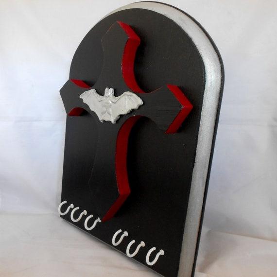 Key Rack - Gothic Decor - Jewelry Rack - Vampire Bat