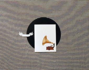 Gramophone Stationery
