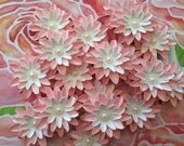 Set of (6) Baby Pink Paper Flowers