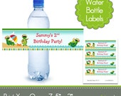 Printable Water Bottle Labels - Match any Invitation in the Shop