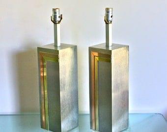 PIERRE CARDIN For Laurel Lamp Co. Vintage Table Lamps C.1970 - AUTHENTIC  & Fabulous