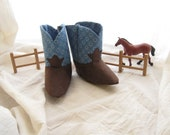 Blue Baby Cowboy Boots